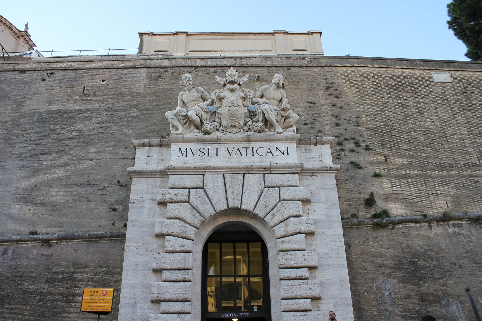 visiting the Vatican Museum