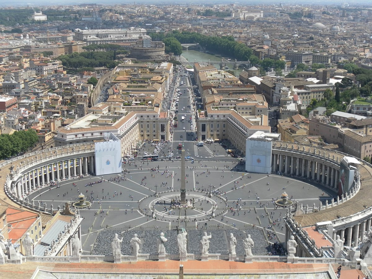 visiting the Vatican city rome