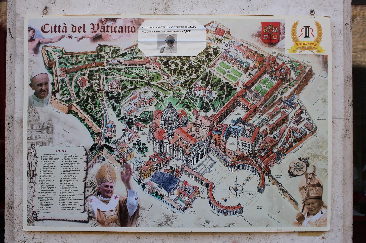 Vatican maps beautiful