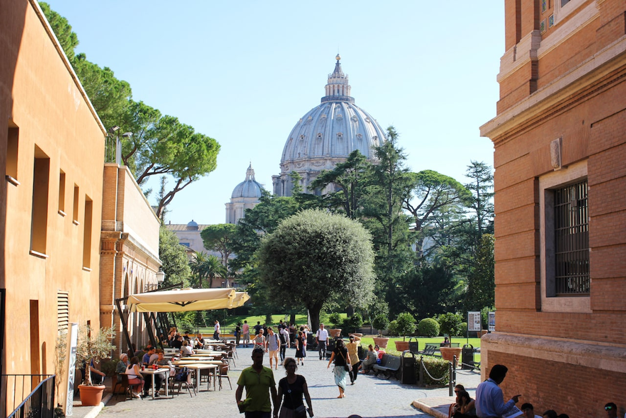 restaurants near vatican museums