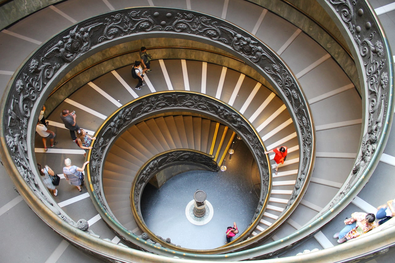 vatican tickets stairs