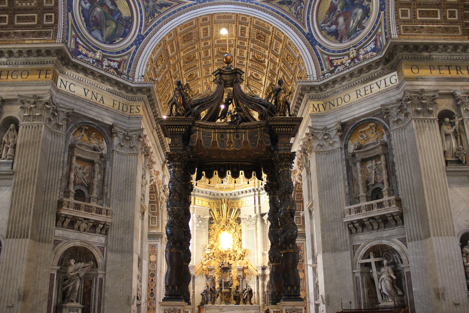 reasons to visit the Vatican St Peter's Basilica