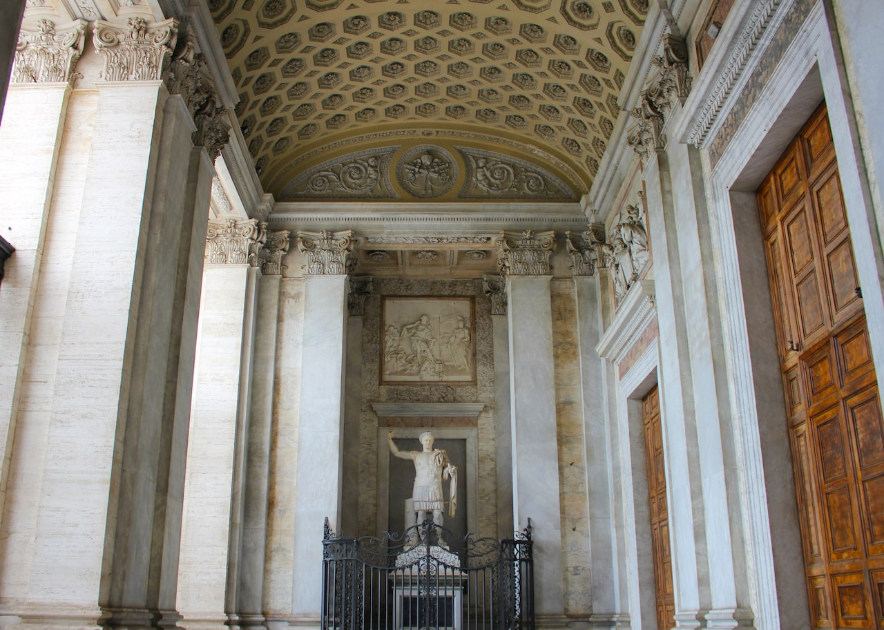 St John Lateran entrance