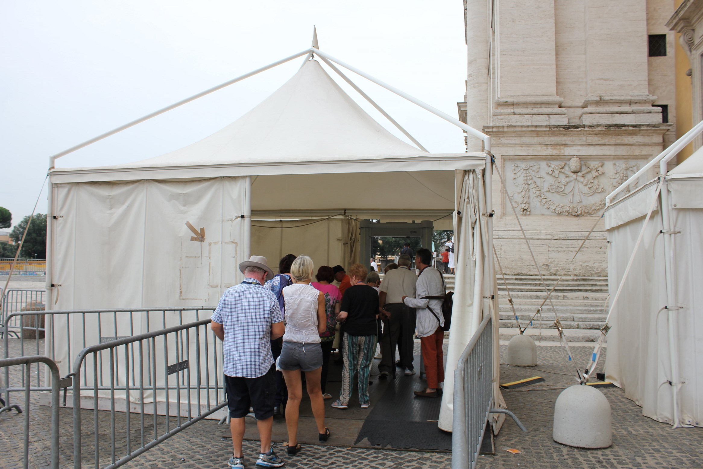 st john lateran security check