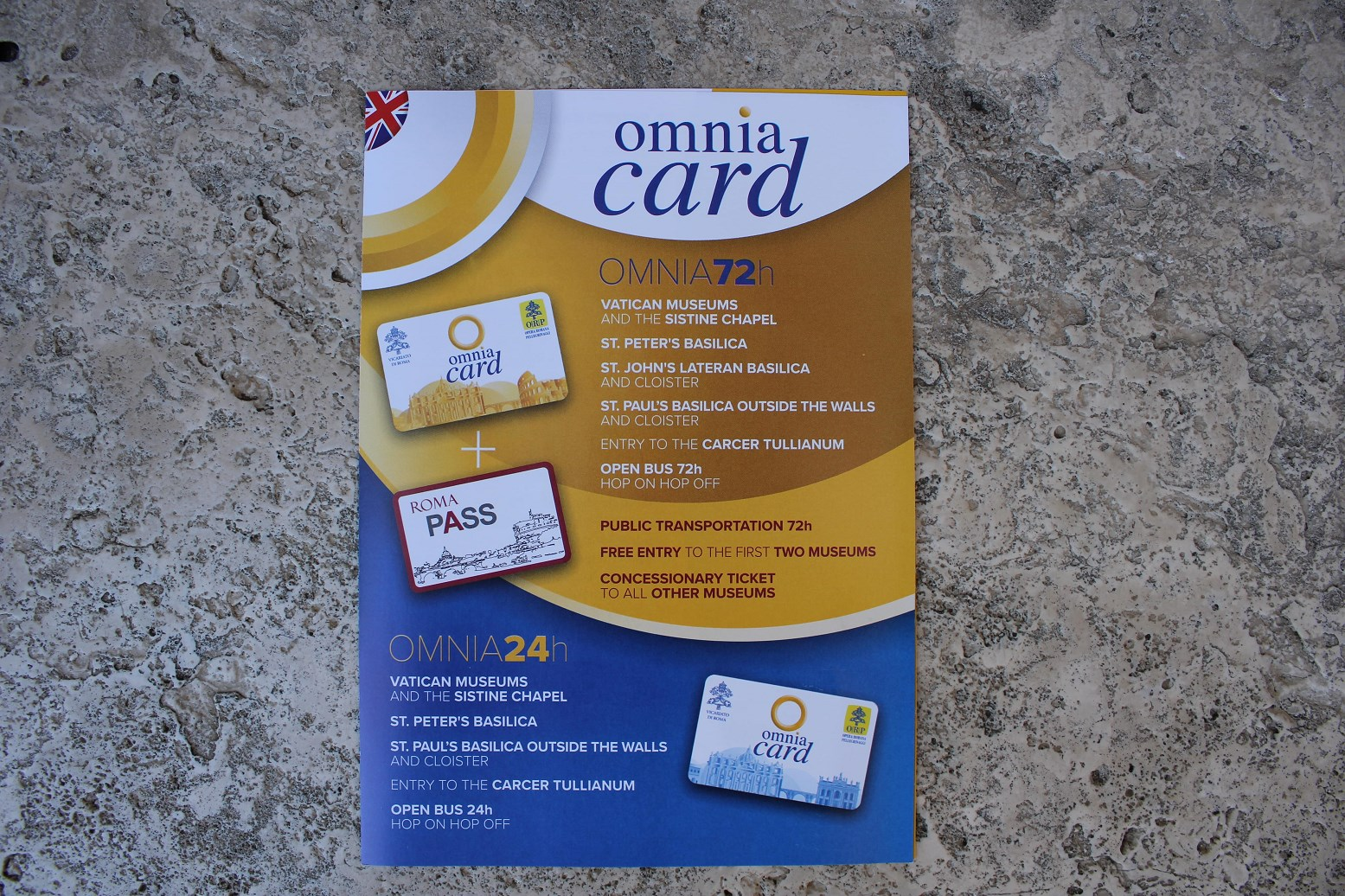 vatican museum and garden tickets omnia card rome