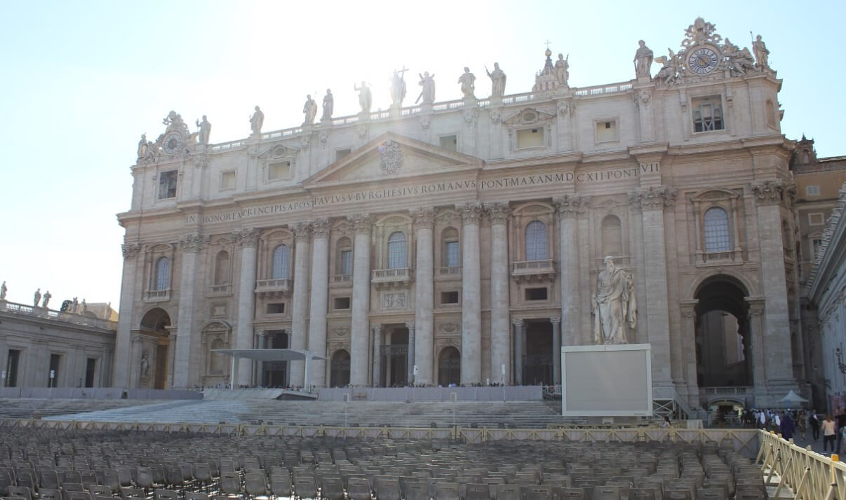 Visiting St Peters Basilica