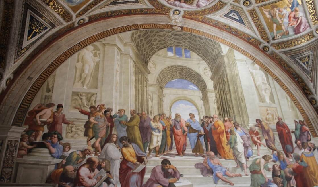 School of Athen's Painting by Raphael