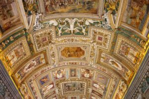 Vatican Gallery of Maps Ceiling & All about Map Room Vatican
