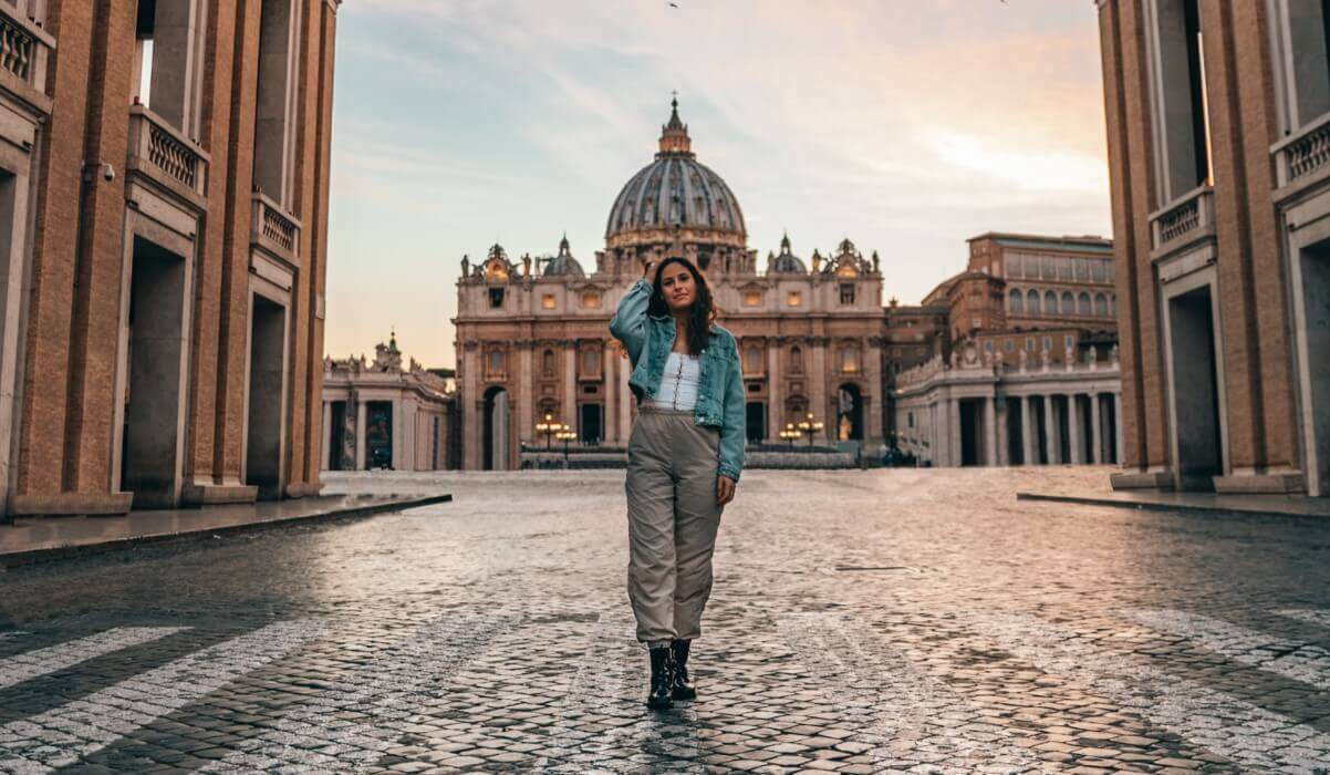 Rules on taking pictures of St. Peter's Basilica