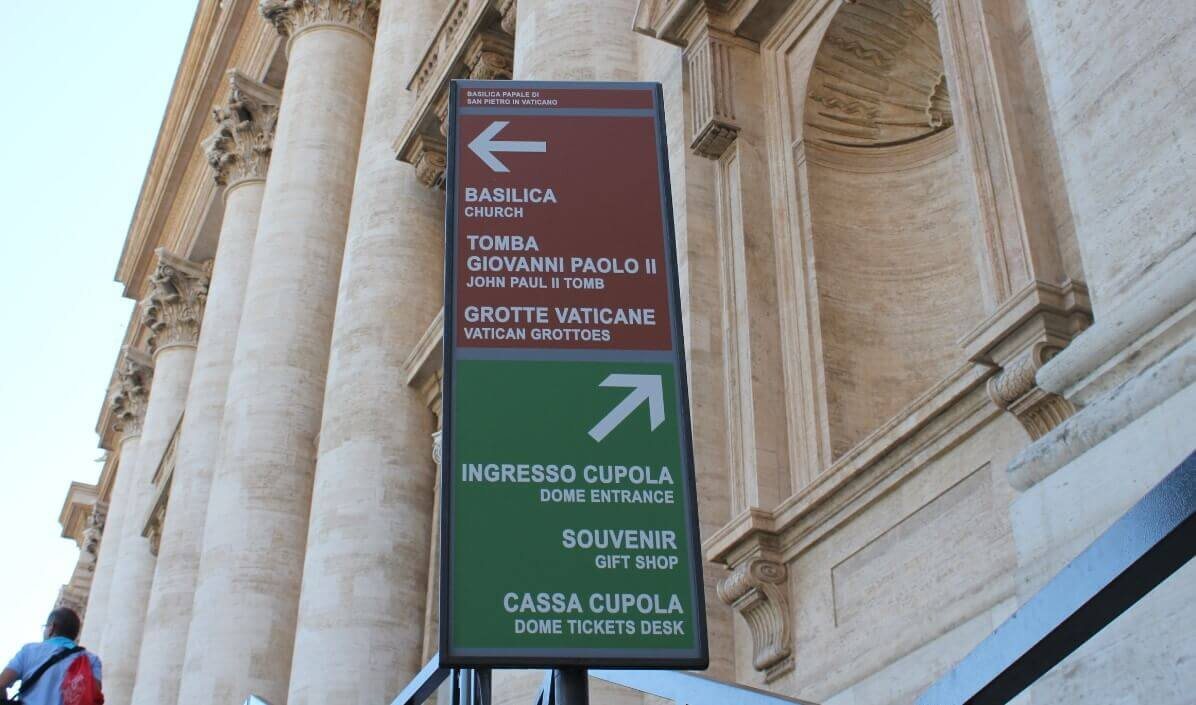 Vatican Grottoes How to get there