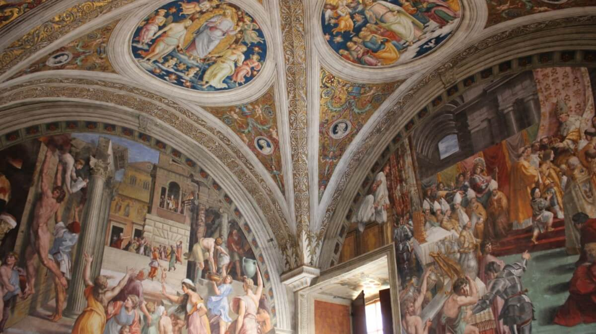 Raphael Rooms Fire in the Borgo