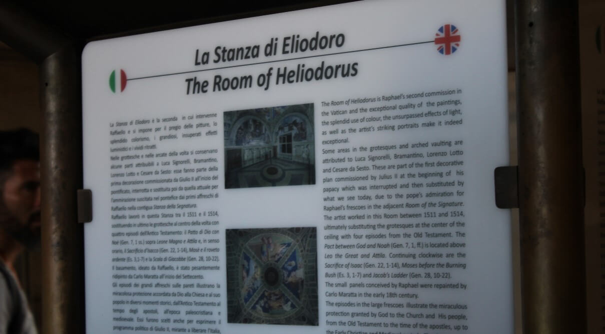 What to see in Room of Heliodorus