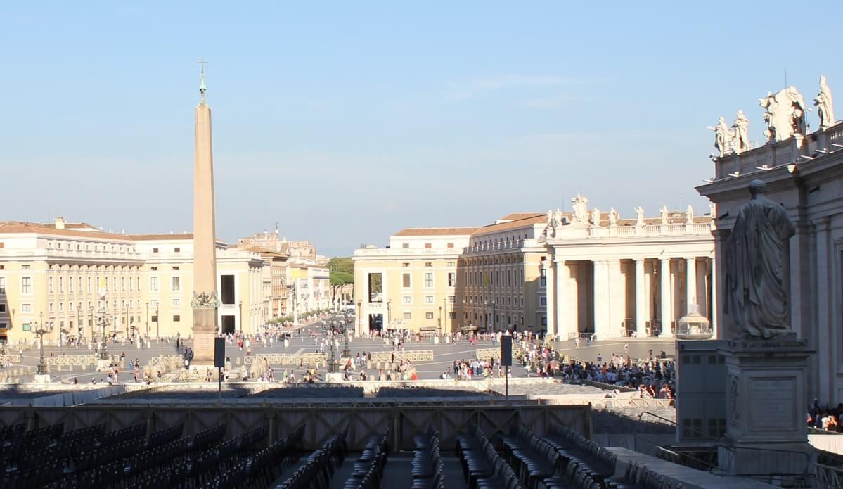 Apostolic Palace in The vatican City